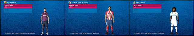 PES 2017 New Tatto Pack 345 Players dari Hatem