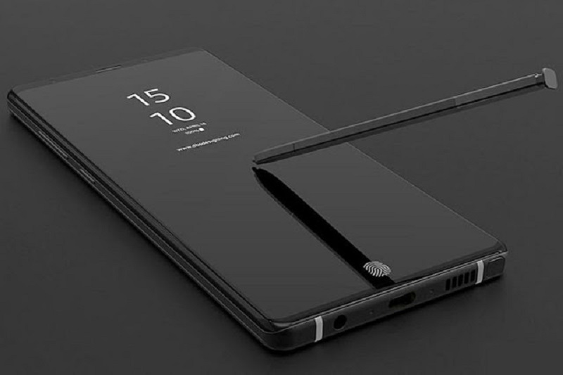 Previous leak of the Samsung Galaxy Note 9
