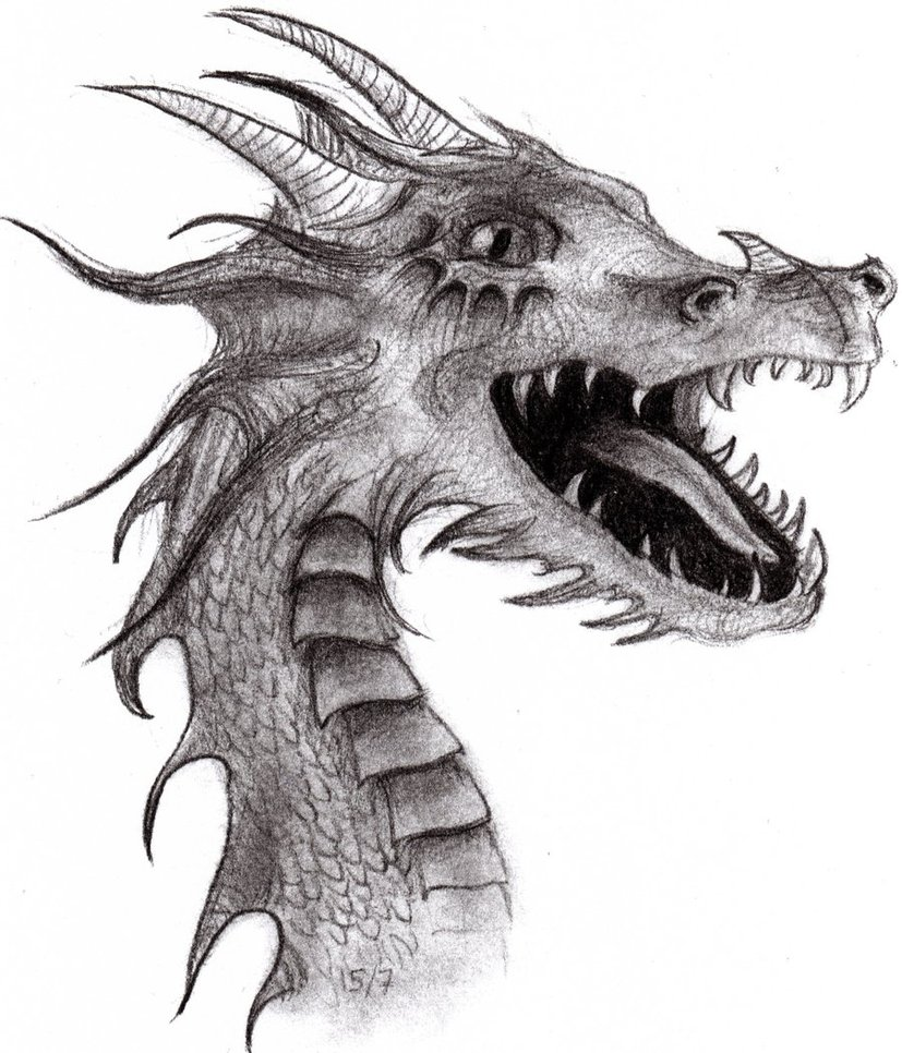 drawing dragons easy | 3D Drawing