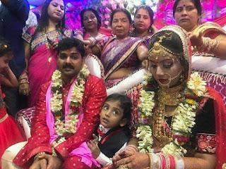 Pawan Singh and Jyoti Singh Marriage Image