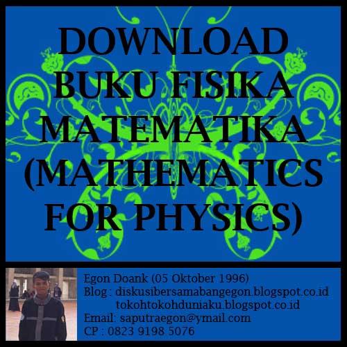 Ebook Fisika Matematika 1