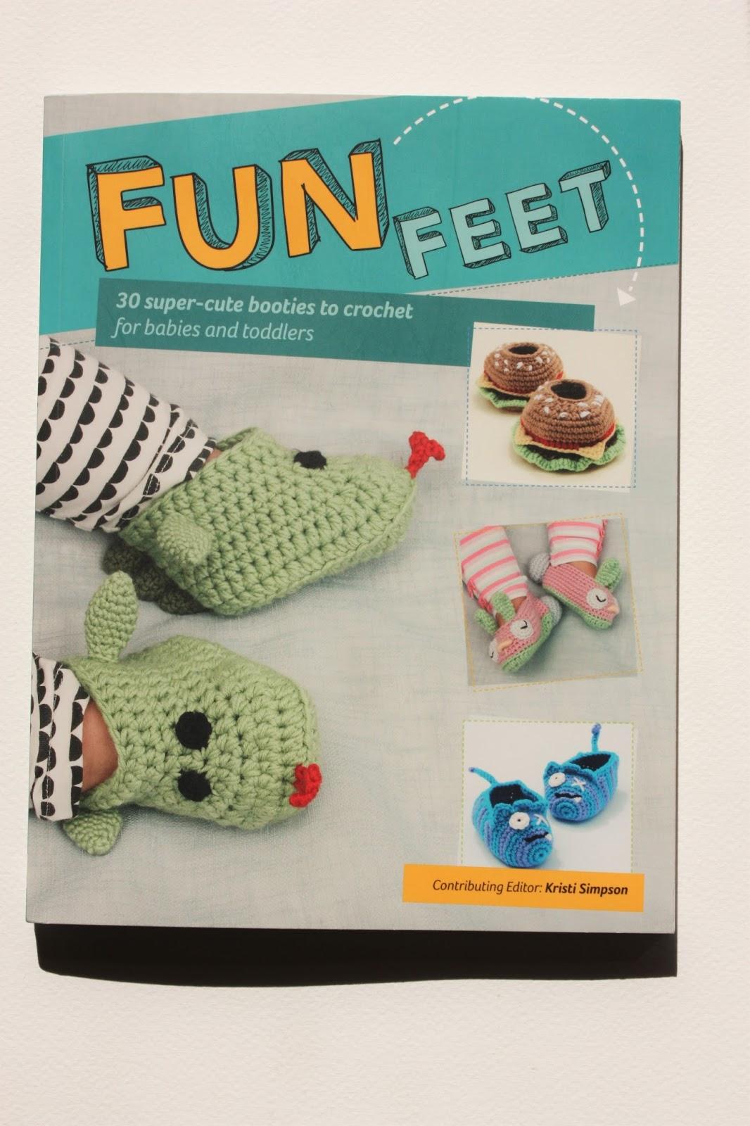 Happyamigurumi: Fun Feet, Creature Feetures - 30 Crochet Patterns ...