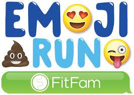 emoji run virtual race run walk FitFam