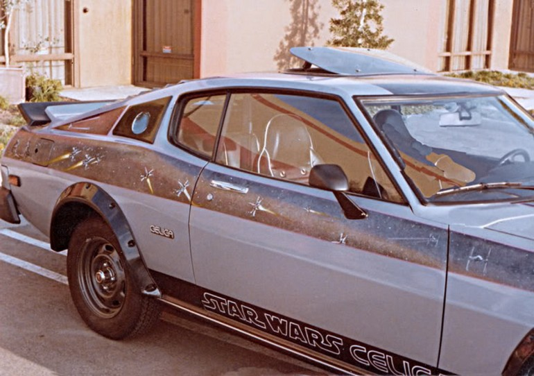 MISSING: 1977 Star Wars Toyota Celica GT – The First