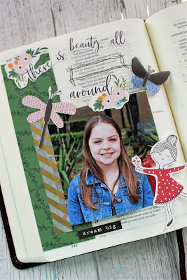@kissinkraftsjessi is on the blog with us today - don't miss her darling Along the Way Projects!