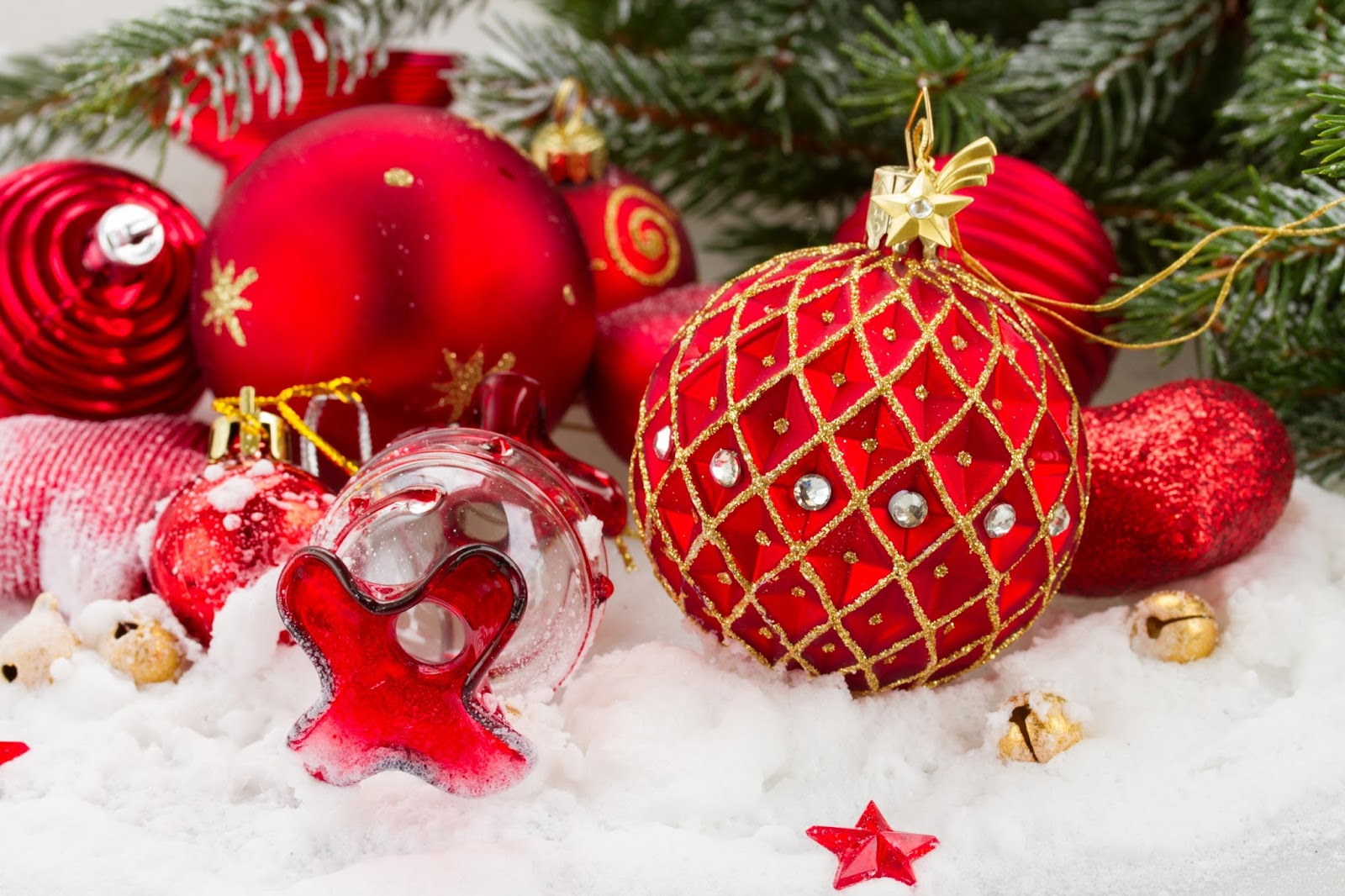Fondos de pantalla de navidad muy bonitos imagenes de - Bolas de navidad ...