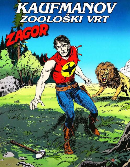 Kaufmanov zooloski vrt (Regularna Serija) - Zagor