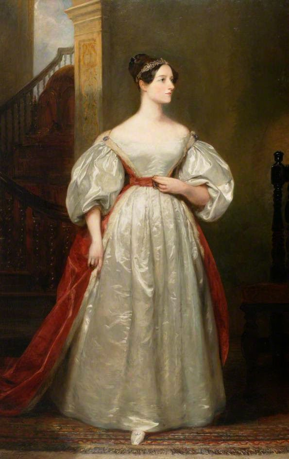 Ada Byron, Daughter of Lord Byron (1836), Margaret Sarah Carpenter