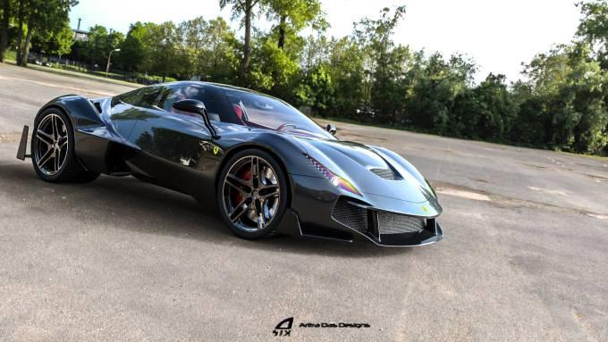 Ultimate Cars Bikes Ferrari Zenyatta Concept Car By Aritra Das Designs