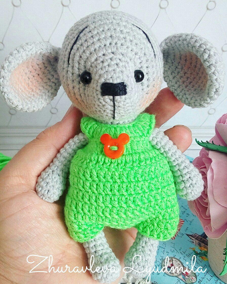 Crochet mouse couple pattern - Amigurumi Today | 1121x897