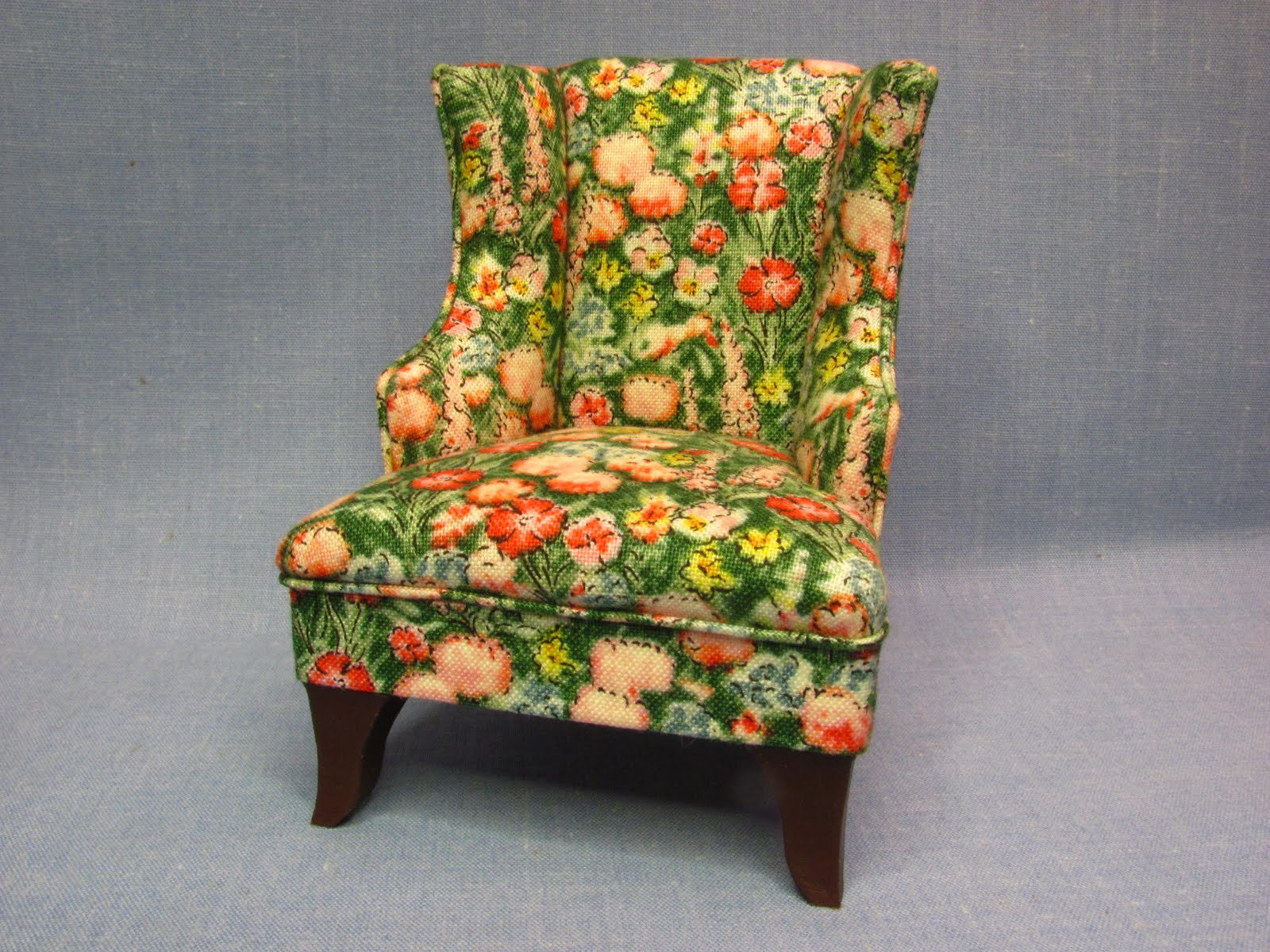 French Country Wing Chair