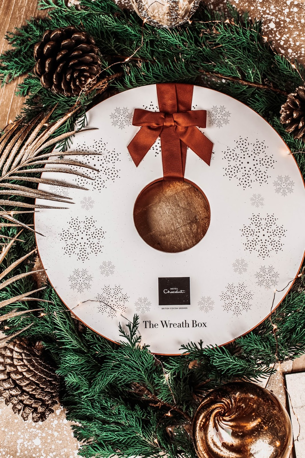 Hotel Chocolat Christmas The Wreath Box Collection
