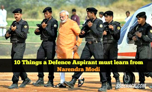 10 Things a Defence Aspirant must learn from Narendra Modi