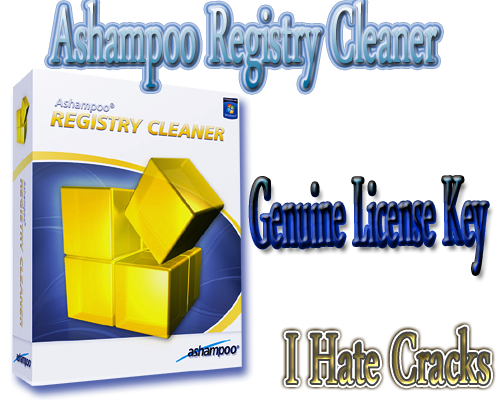 Get Ashampoo Registry Cleaner With Genuine License Key