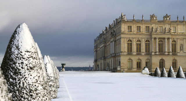 Palácio de Versalhes no inverno