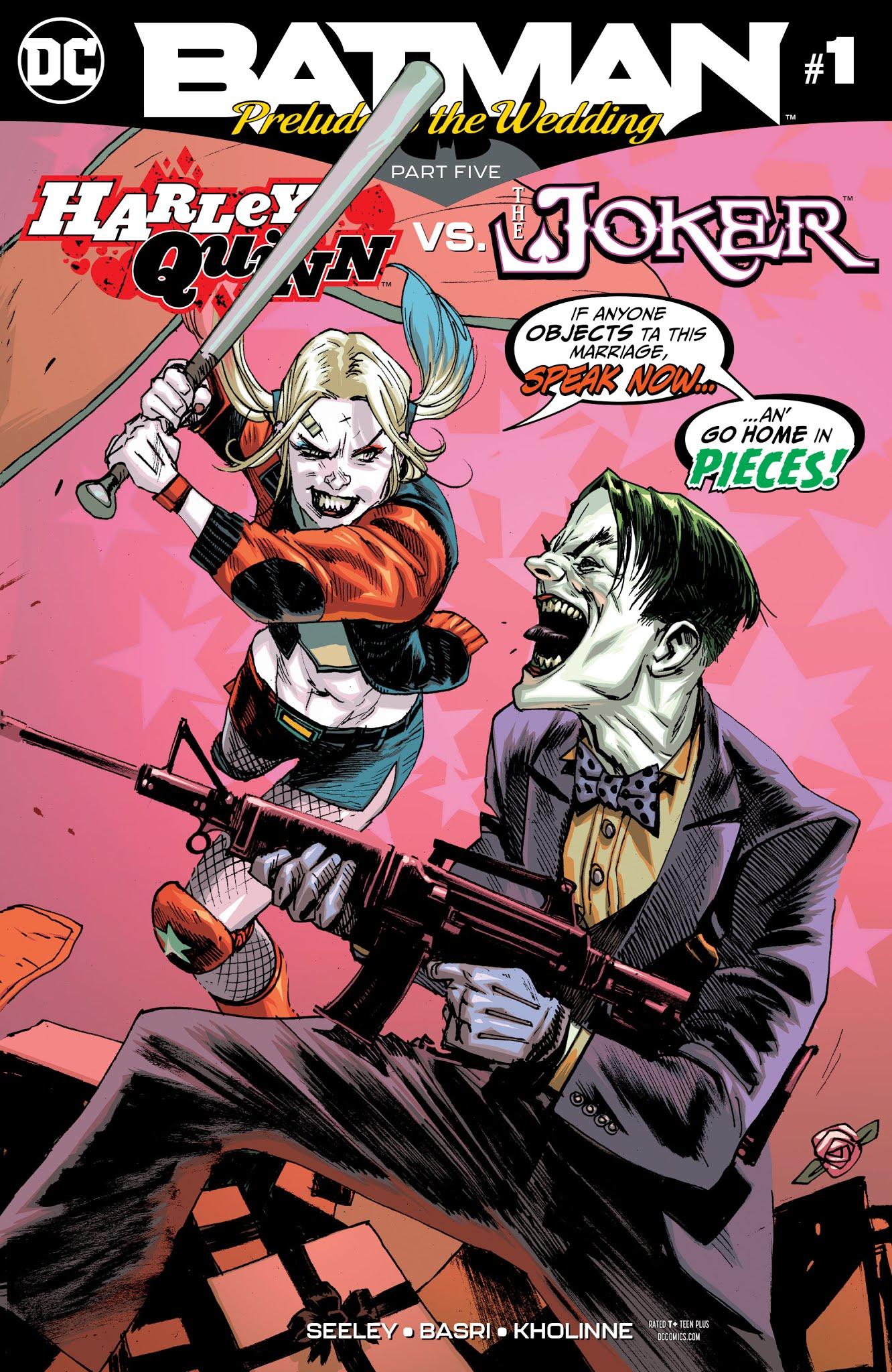 Batman: Prelude to the Wedding: Harley Quinn vs. Joker Full Page 1