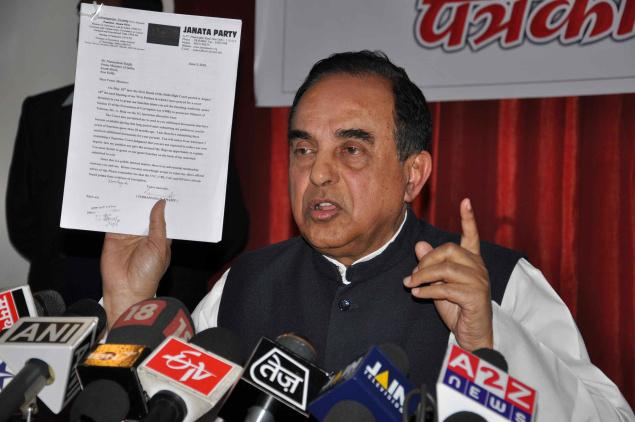 Subramanian Swamy Alone Warrior among politicians who fighting against corrupt leaders