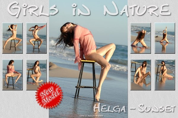 [GirlsInNature] Helga - Sunset - idols