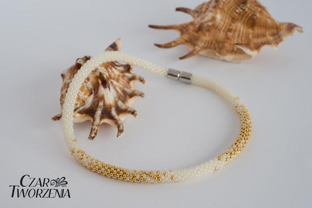 handmade rękodzieło ręcznie robiony naszyjnik