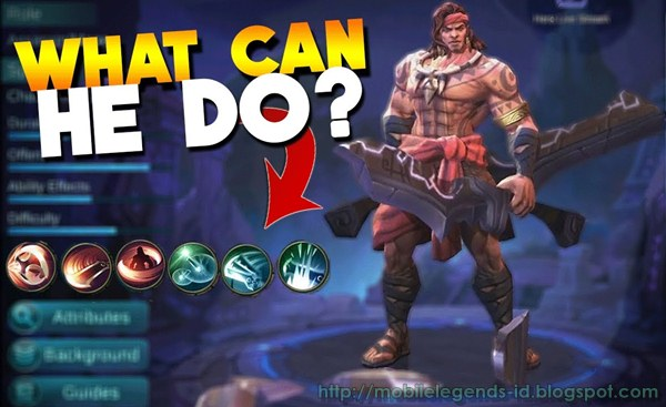 Skill Build Hero Lapu Lapu Mobile Legends