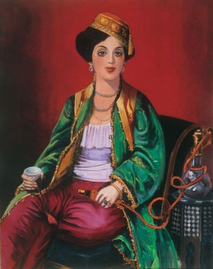 Греческий художник. Elena Navrozidou