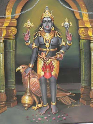 Shani Mantra blue sapphire wearing