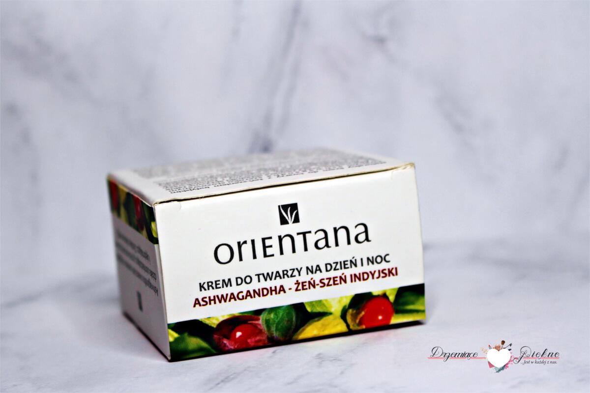 Orientana, krem do twarzy z żeń-szeniem indyjskim Ashwagandha