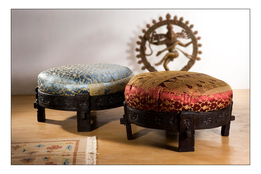 Monsoon Craft Com Indian Chukki Ottoman Seating