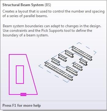 Revit Link: Revit Structural Beam System