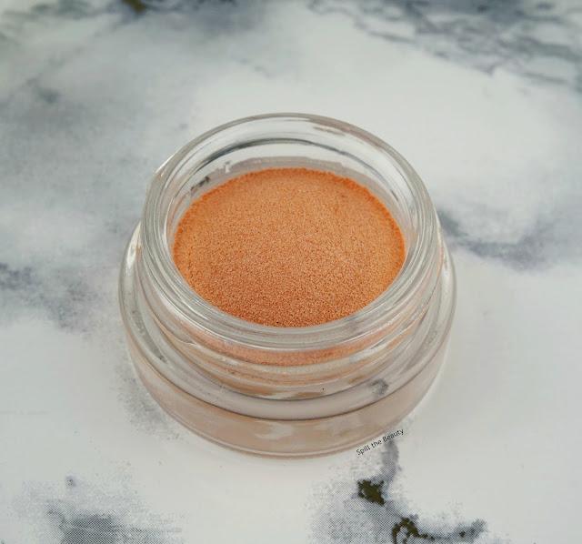 MAC Soft Serve Eye Shadow So So Saucy swatch review