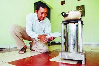 Muhammad Nurhada, kompor ramah lingkungan