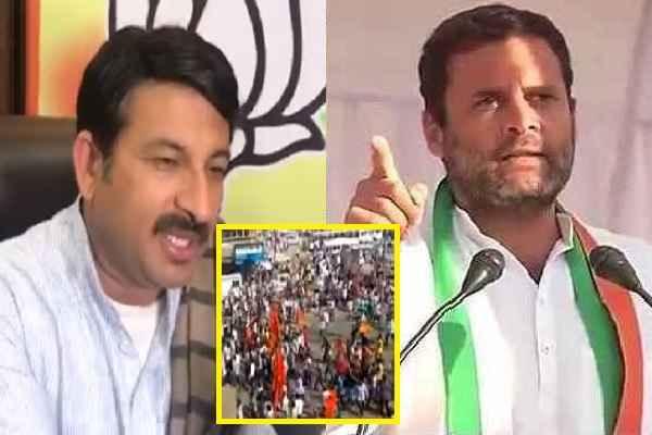 manoj-tiwari-blamed-rahul-gandhi-behind-maharashtra-jaativad