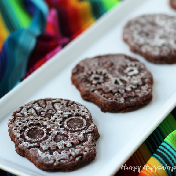 Bake Sugar Skull Brownies To Celebrate Day Of The Dead
