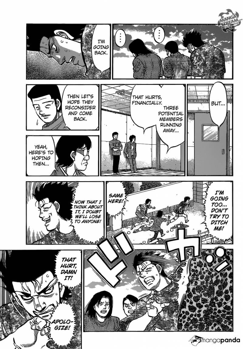 Hajime no Ippo - Chapter 1149