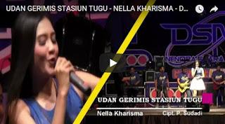 Lirik Lagu Nella Kharisma - Udan Gerimis Stasiun Tugu