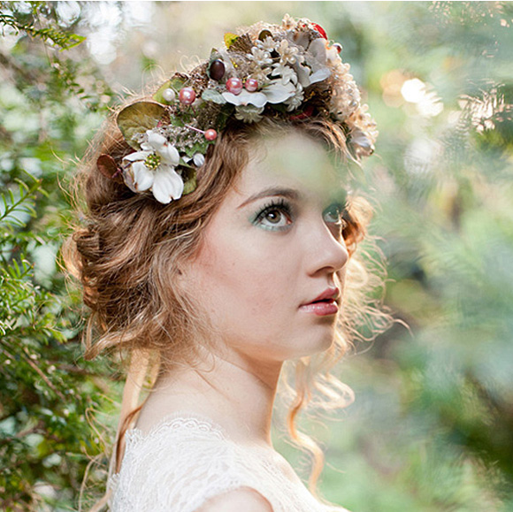 Peinados Con Diademas De Flores - Más de 1000 ideas sobre Estilos De Cabello Con Diademas en