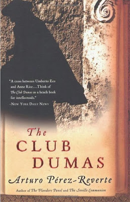 The Club Dumas by Arturo Perez-Reverte – Front cover