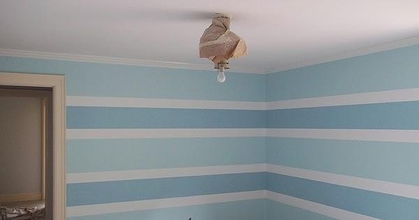 Painting Horizontal Stripe Pattern On Walls Everything I