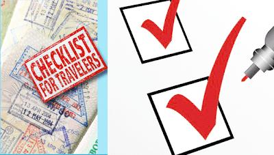 Travel Health Insurance Checklist