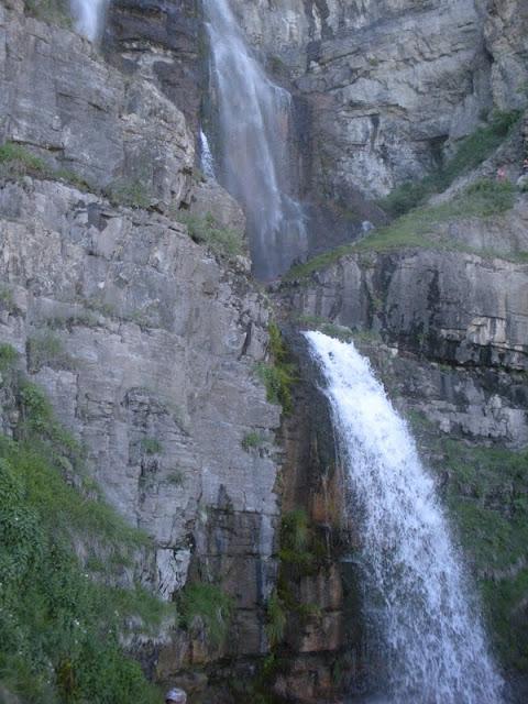 Utah waterfall