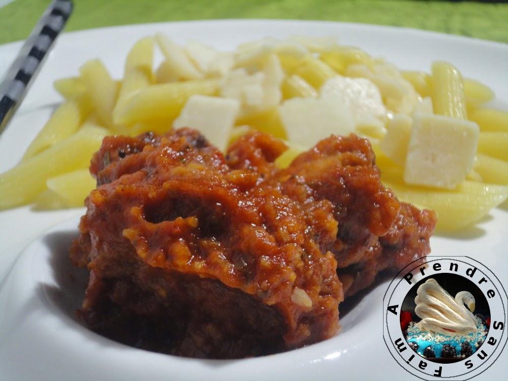 Sauce Arrabiata au poulet et penne (pas à pas en photos)