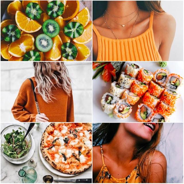 fotos laranjas para te inspirar