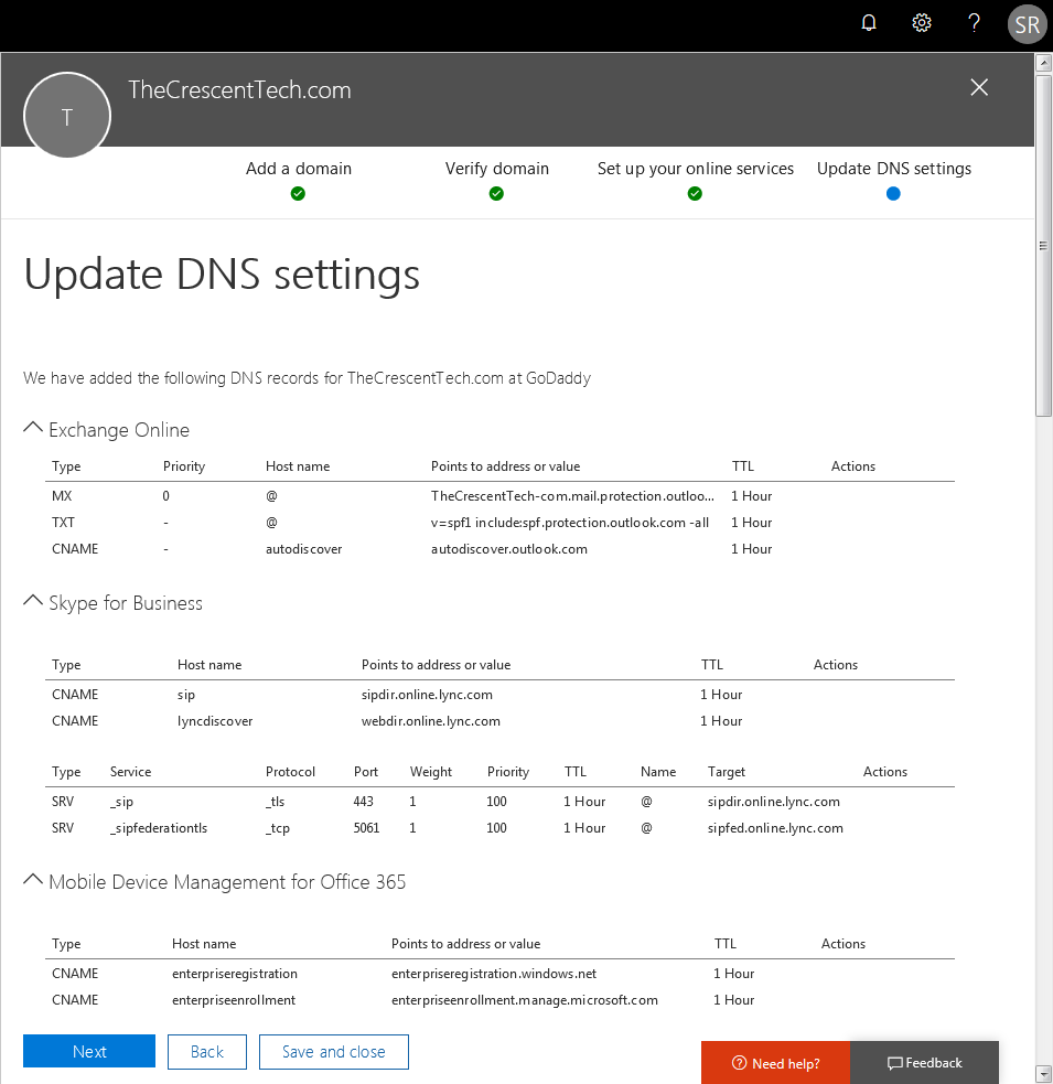 office 365 how to add domain