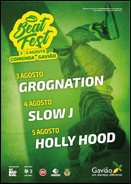 BEAT FEST Quando o hip-hop rima com Alentejo cartaz