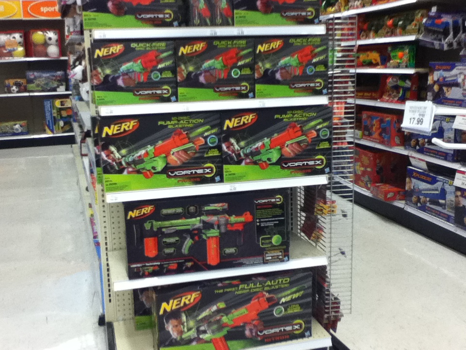 Urban Taggers Nerf Vortex Spotted Us Toys R Us Guess They Didn