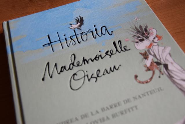 """Recenzja #13 - """"Historia Mademoiselle Oiseau"""" + konkurs - nagłówek - Francuski przy kawie"""