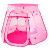 BATTOP Pink Princess Tent Indoor and Outdoor 1-8 Years Old Children Game Play Toys Tent Balls Not Included (Pink)