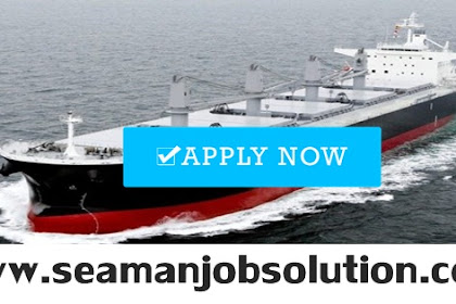 Masters, chief engineers, chief officers for bulk carrier vessel