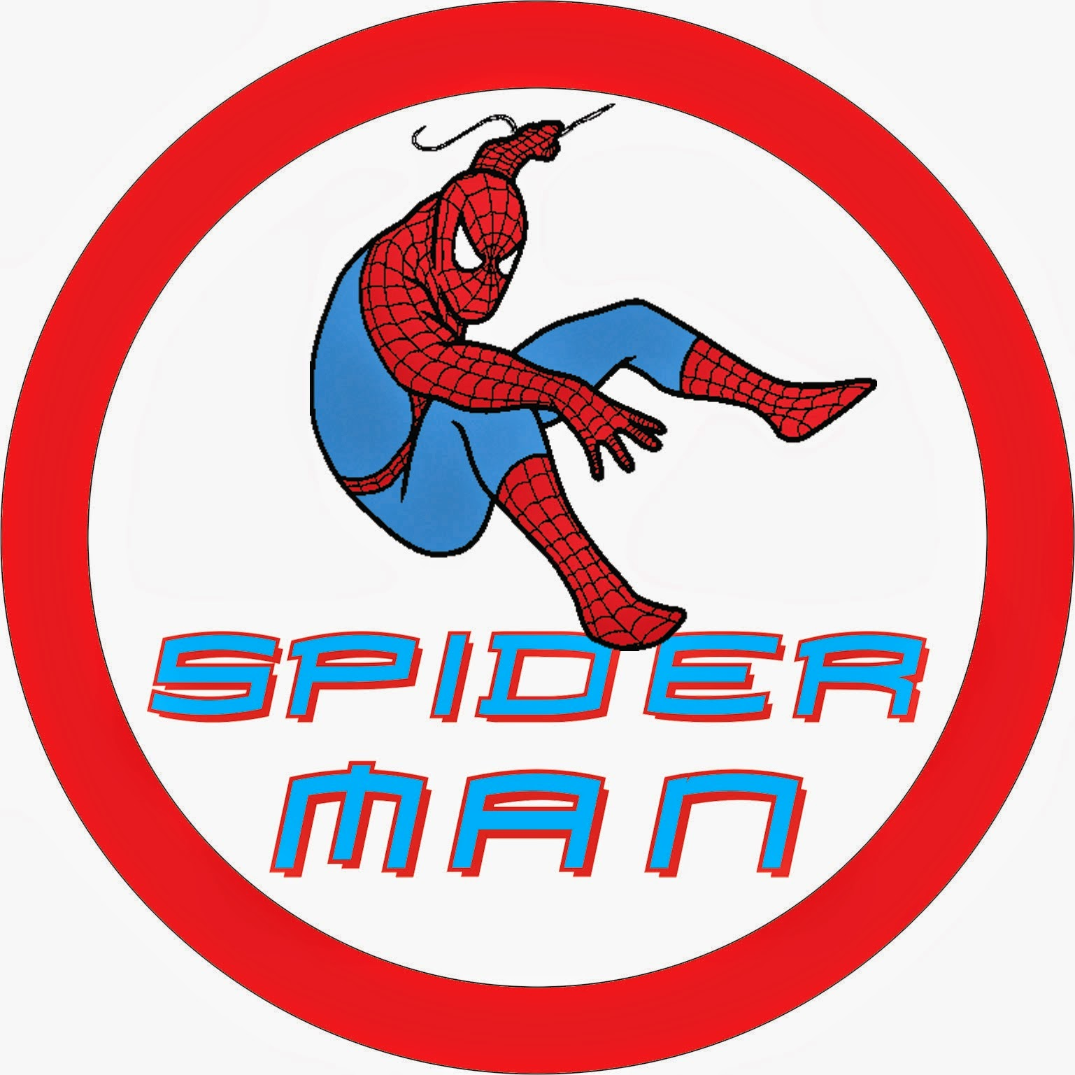 Spiderman Free Printable Kit