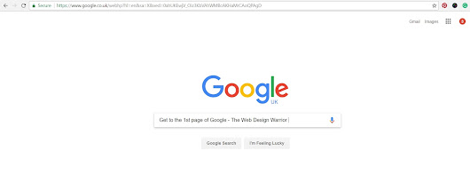 Get your business on the 1st page of Google